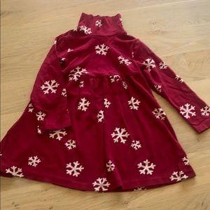 NWT Gymboree Ruffle Velvet Red Dress Christmas Girls